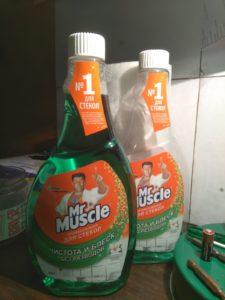 Мистер Мускул VS изопропиловый спирт